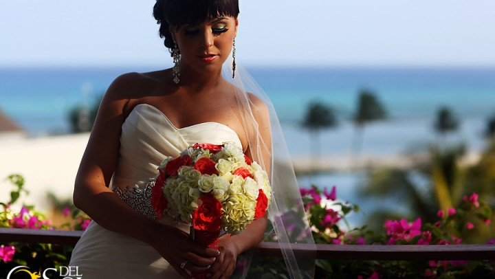Kristin Rogers  and Mr. Courtney Sharpe, Riviera Maya Wedding at Grand Velas, Mexico.