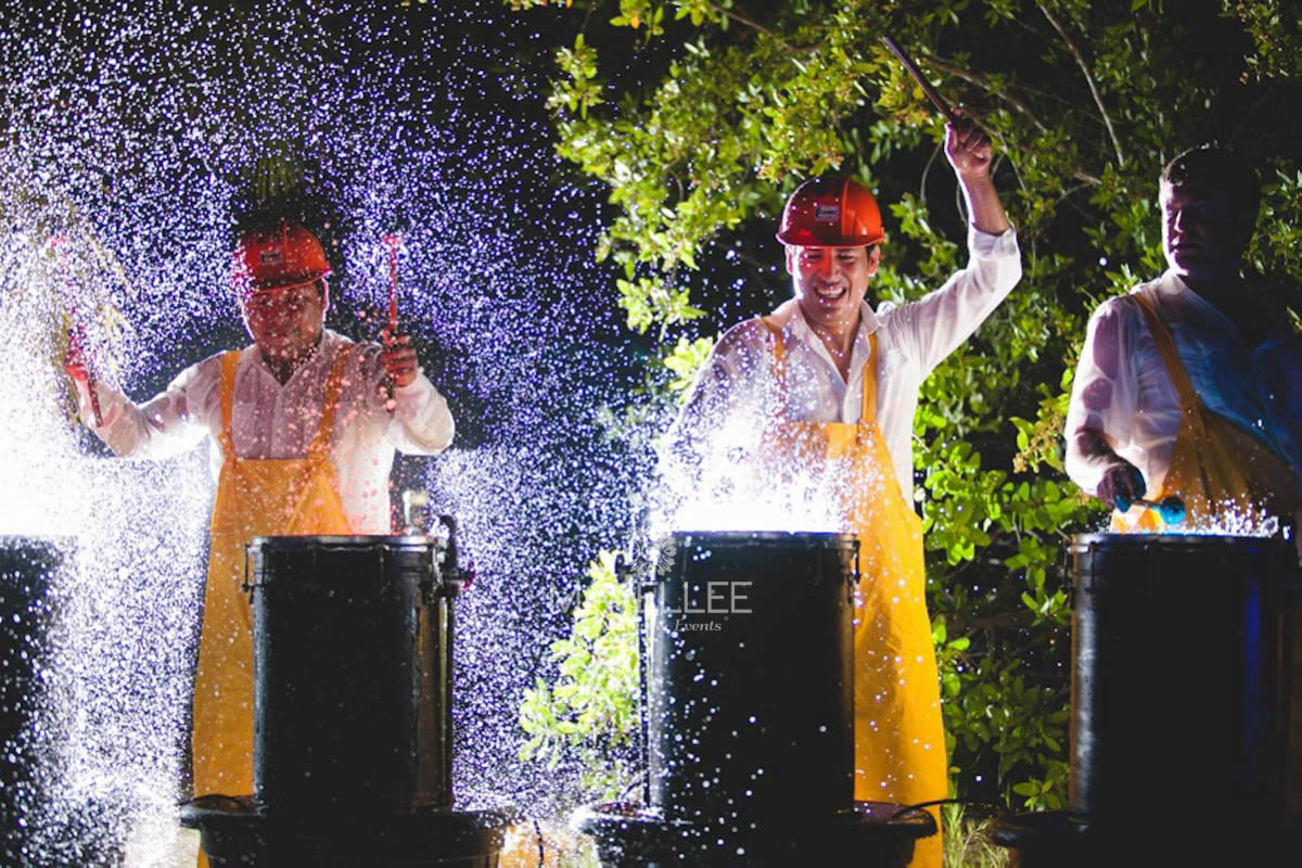 Wedding cancun-Planners-Show water drums- show services for events--13