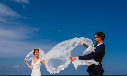 cancun destination weddings mathias y Gaby