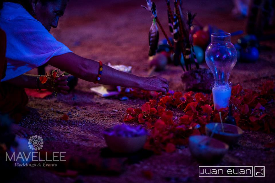 altar ceremonia maya